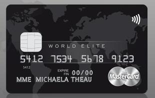 Carte World Elite.La Carte Platinum Mastercard Devient World Elite Mastercard